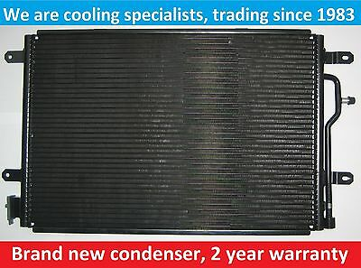 Brand New Condenser (Air Con Radiator) Audi A4 / S4 / Seat Exeo 2009 On