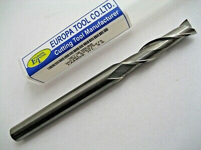 6mm SOLID CARBIDE L/S 2 FLUTED SLOT DRILL MILL EUROPA TOOL 3023030600  #C2