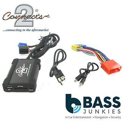 Audi A4 1997-2005 Car Stereo Radio USB SD & AUX In Interface Adaptor Cable Lead