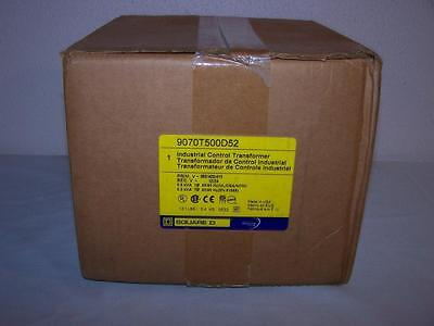 Square D 9070T500D52 Industrial Control Transformer New In Box