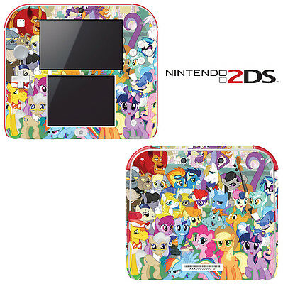 My Little Pony Friendship is Magic for Nintendo 2DS Skin Vinyl Decal Cover