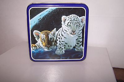 Schim Schimmel Art Impressions 1997 Tin With Tigers