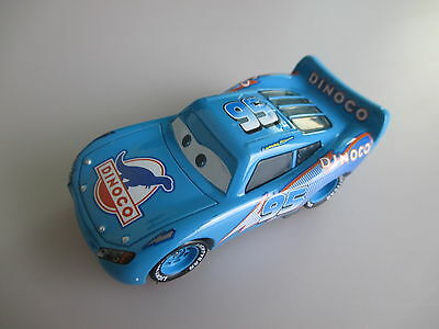 Disney Cars Dinoco Blue Lightning Mcqueen Diecast Toy Car 1:55 New No Box