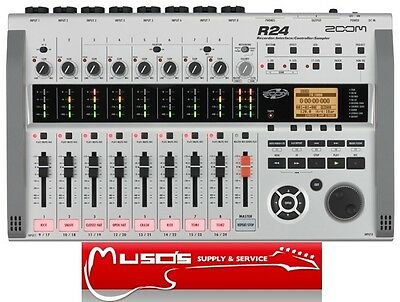 Zoom R24 Digital Recorder $799 + postage (free for Greater Sydney)