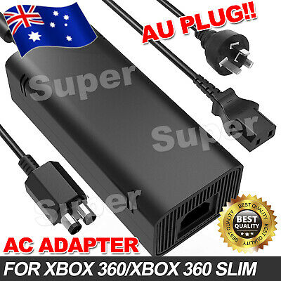 OZ Hot AC Power Supply Cord Cable Charger for Xbox 360 Adapter Slim Brick 135W