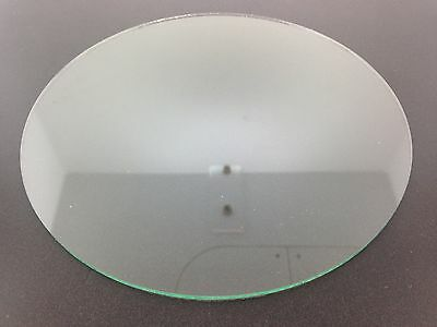 """New Flat Round Clock Glass 6"""" or 152.5mm"""