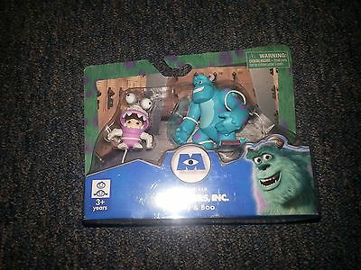 """Disney : Monsters Inc. : 2"""" Sulley & Boo Figures : Spin Master 2012"""