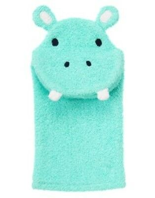 Gymboree Hippos And Blues Hippo Puppet Toy Terry Mitt 1-Size Nwt