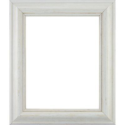 """American Classic, 1.75"""" Weathered White Pine Wood Picture Frame Shell"""