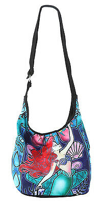 New Disney The Little Mermaid Ariel Stained Glass Hobo Bag