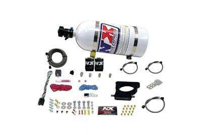 Nitrous Express Chevy GM Corvette GTO LS 3-Bolt Nitrous Plate Kit w 10LB Bottle
