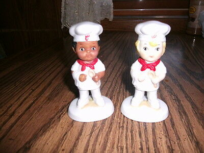 CAMPBELL'S SOUP     FIGURINE'S  LOT OF TWO CHEF'S
