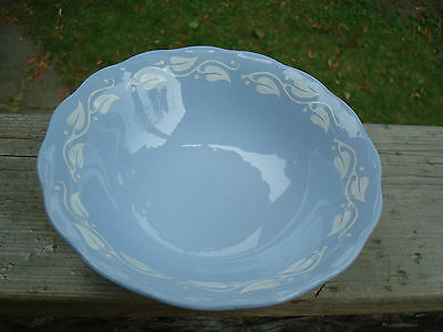 Grindley Blue Petal Ware Soup/Salad/Cereal Bowl - Made in England