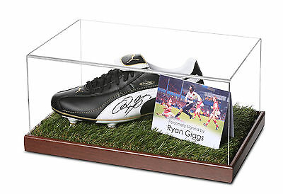 Ryan Giggs Signed Football Boot Display Case Manchester United Autograph + COA