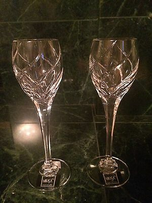 BRAND NEW Mikasa Olympus Crystal Cordial Glass - Set of 2 *RARE FIND*