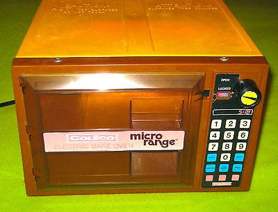 Coleco Micro Range Kid's Child's Microwave Electric Bake Oven 1978 in Box