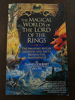 The Magical Worlds of Lord of the Rings : The Amazing... by David Colbert (E7)