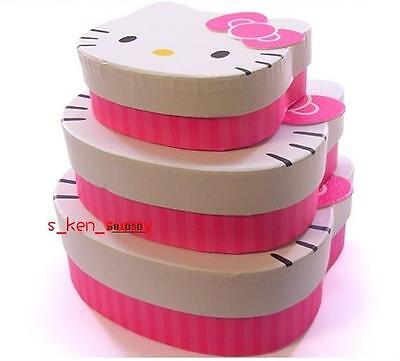 3-in-1 Hello Kitty Beautifully Storage Cosmetic case,pink
