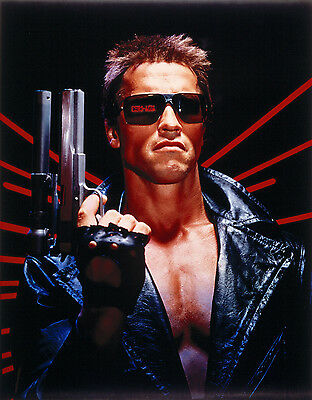 The Terminator Movie Arnold Schwarzenegger Giant Poster - A0 A1 A2 A3 A4 Sizes