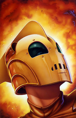 The Rocketeer Vintage Movie Giant Poster - A0 A1 A2 A3 A4 Sizes