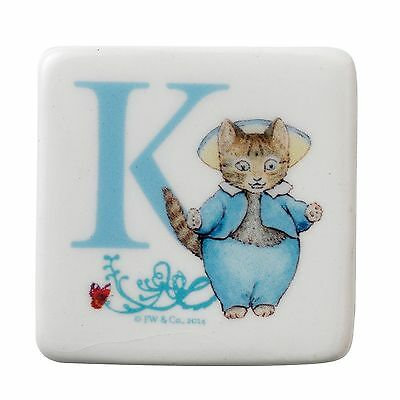 Beatrix Potter A27269 Magnet Letter K Tom Kitten
