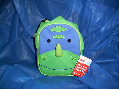 NWT Skip Hop Zoo Dinosaur Insulated Lunch Bag Box Lunchie