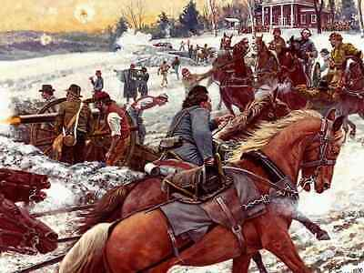 """""""Post of Honor"""" Don Stivers Signed Limited Edition Civil War Print"""