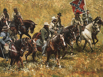 """""""Rebs"""" Don Stivers Limited Edition Civil War Giclee Print"""