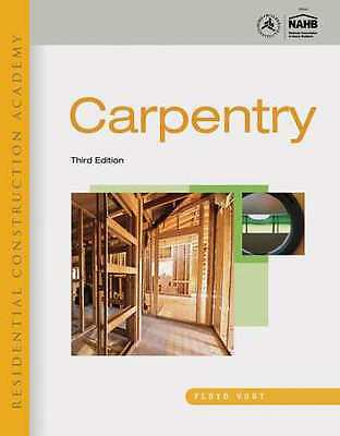 CENGAGE LEARNING 9781111308261 Carpentry