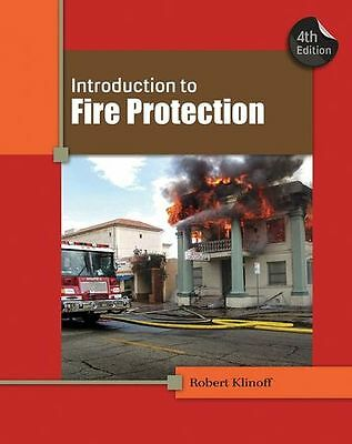CENGAGE LEARNING 9781439058428 Introduction to Fire Protection