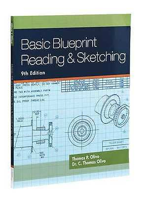 CENGAGE LEARNING 9781435483781 Basic Blueprint Reading and Sketching