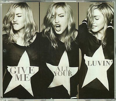 MADONNA Give Me All Your Luvin SOUTH EAST ASIA (SEA) Edition SINGLE CD