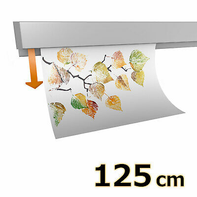 Hang-it Klemmschiene Aluminium - 125 cm - Wandmontage
