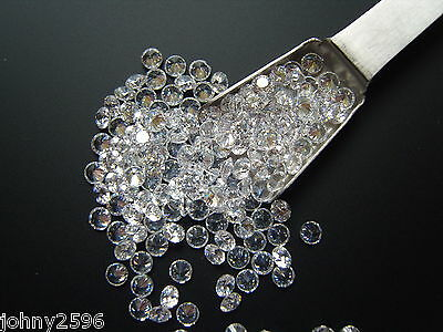 4mm round clear/white loose cubic zirconia 6 stones for £1.10p