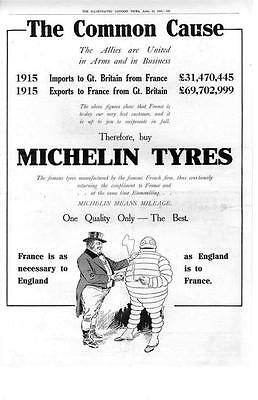 Michelin Tyres    -  Michelin Tires    -   1916
