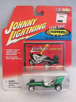 Johnny Lightning  The Lost Toppers  -  Skinni Mini  Green  NOC  (115D14)