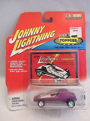 Johnny Lightning  The Lost Toppers  -  Commuter  Purple  NOC  (115D14)