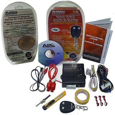 New BullDog Remote Auto Start Ignition Starter System w/ Bypass Infinity & Other