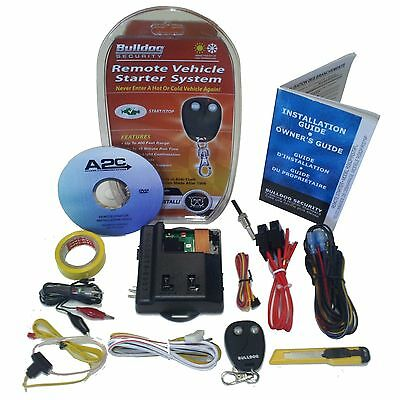 New BullDog Remote Auto Start Ignition Starter System Kit Lexus Lincoln & Others