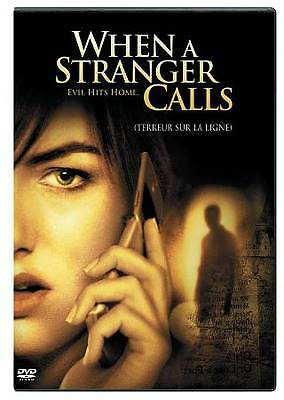 When a Stranger Calls (DVD, 2006, Canadian) DISC IS MINT