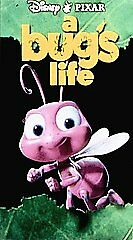 Disney PIXAR A Bug's Life (VHS, 1999) $1 COMBINED SHIPPING - CLAMSHELL CASE