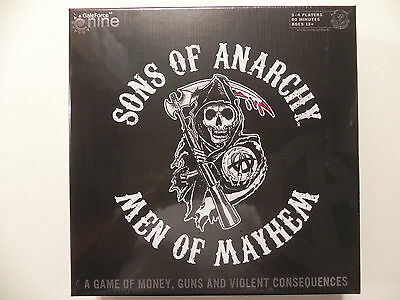 Sons of Anarchy; Men of  Mayhem board game