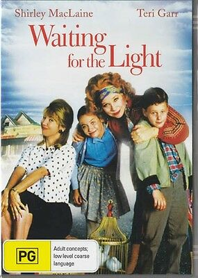 WAITING FOR THE LIGHT - SHIRLEY MACLAINE - NEW & SEALED REGION 4 DVD
