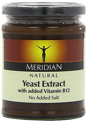 Meridian Natural Yeast Extract With Added Vitamin B12 340g