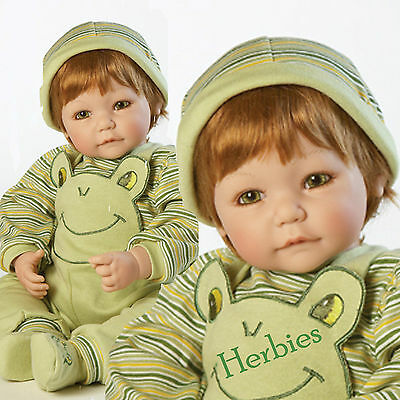 Adora Froggy Fun - Boy, Charisma Dolls, Vinyl and Cloth Baby Doll, New In Box