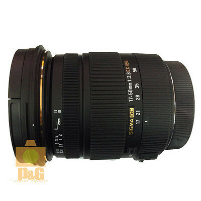 NEW BOXED SIGMA 17-50mm F2.8 EX DC OS HSM FOR NIKON LENS