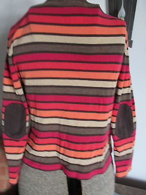58b428a852981f TALBOTS SIZE PS Women's Knit Top 3/4 Sleeve Cotton Coral T94 - $8.97 ...