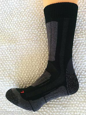 Mens Quality Merino Wool Hike Walking Long Crew Boot Socks Karrimor 7/11 11+