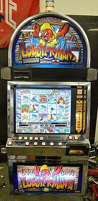 """IGT I-GAME COINLESS VIDEO SLOT MACHINE """"LOBSTERMANIA"""""""