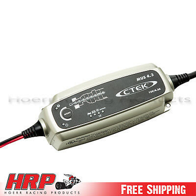 CTEK MUS 12V 4.3 Amp Battery Charger and Maintainer Powersports/Auto PN: 56-864